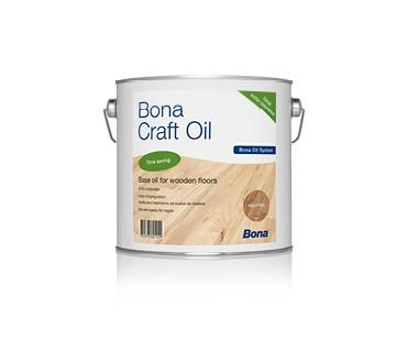 BONA Craft Öl weiß 2,5 liter