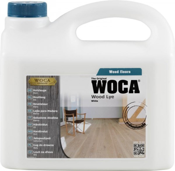 WOCA Holzlauge weiß 2,5 liter