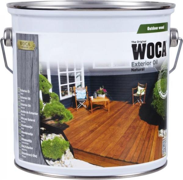 WOCA Terrassen Exterior Öl natur 2,5 liter