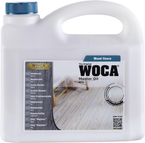 WOCA Meisteröl colour weiß 2,5 liter