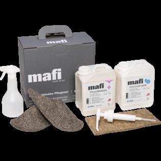 Mafi Naturholzboden Pflegeset weiß