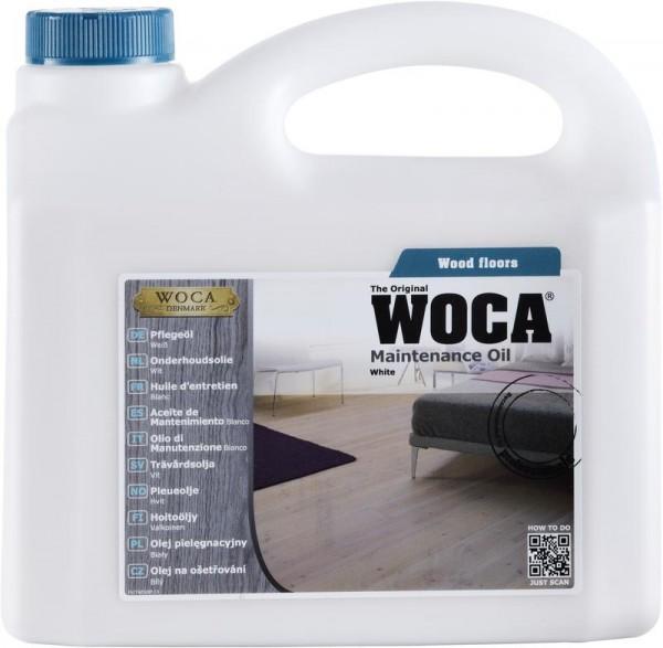 WOCA Pflegeöl Extra Weiß mehr Pigmente 1 liter