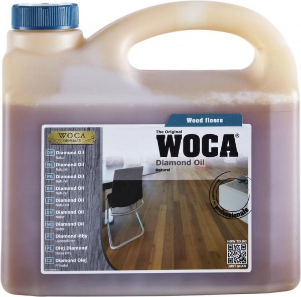WOCA Diamond öl natur 2,5 liter