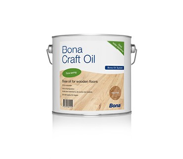 BONA Craft Öl grau 2,5 liter