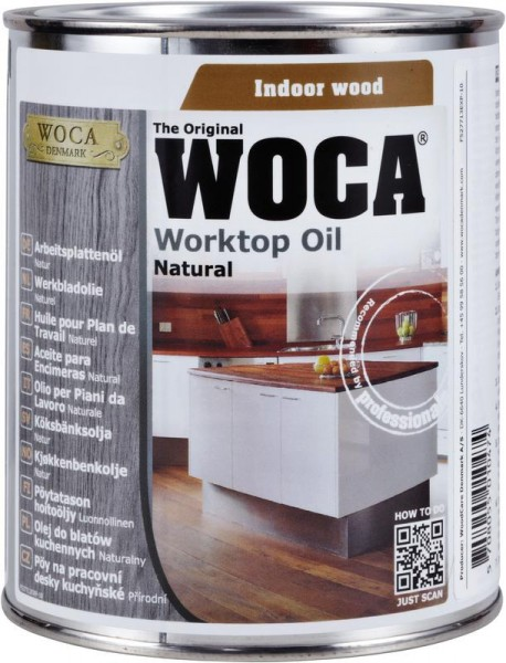 WOCA Arbeitsplattenöl natur 750 ml